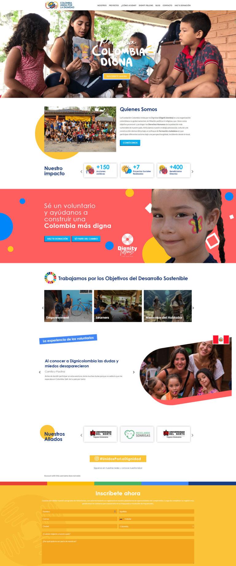Fundación Colombia Unida por la Dignidad